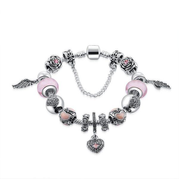 Angel Charm Bracelet