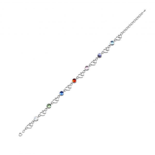Colorful Heart Bracelet