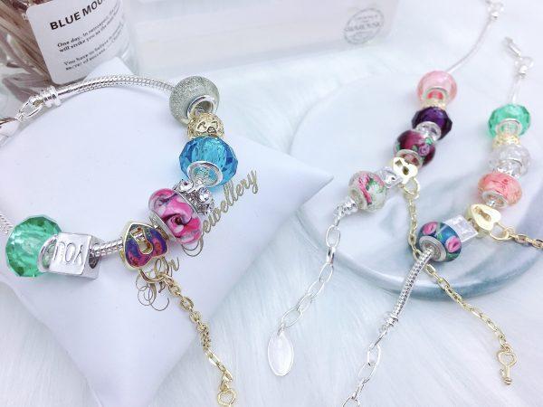 Colorful Charm Bracelet