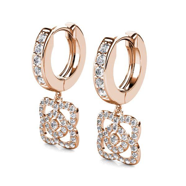 Iris Hoop Earrings