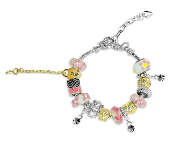 Roman Charm Bracelet
