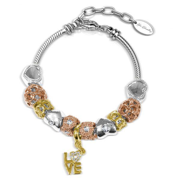 Vibrant Charm Bracelet