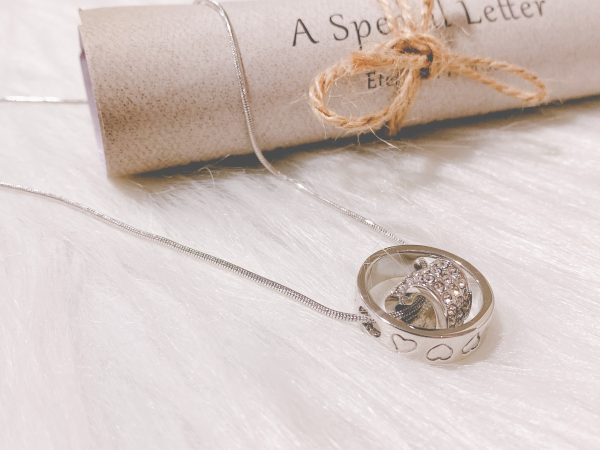 3 styled Heart pendant
