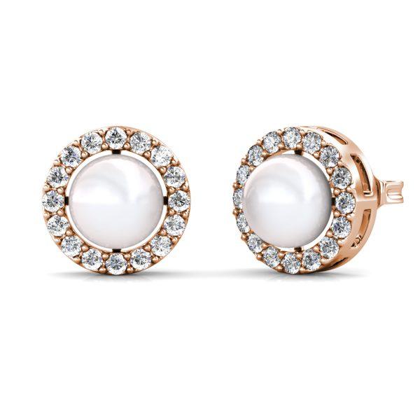 Circlet Pearl Earrings