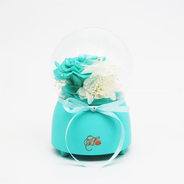 Only Love Music Globe Preserve Flower