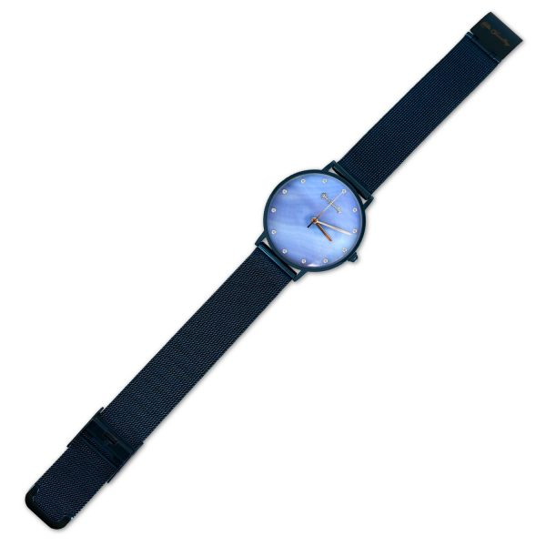 Multi Blue Shell Dial Watch
