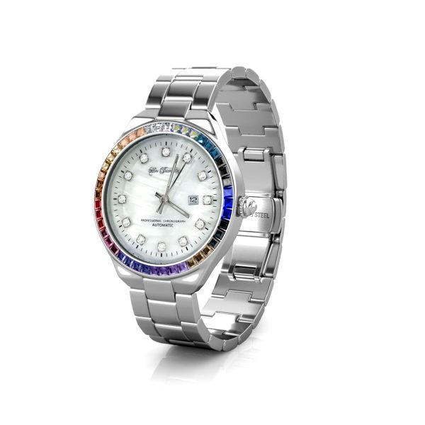 Rianbow Shell Dial Watch