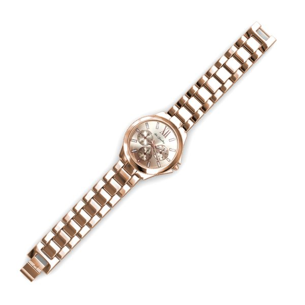 Rechteck Metallic Watch