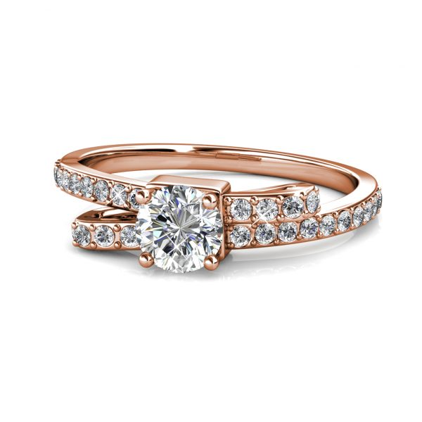 Crystaline Bow Ring