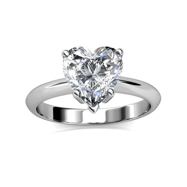 Belle Heart Ring